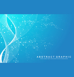 scientific genetic engineering vector image