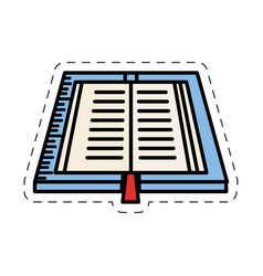 Vbook read learn image vector