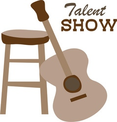 Talent Show vector image vector image