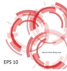 three red circles vector image vector image