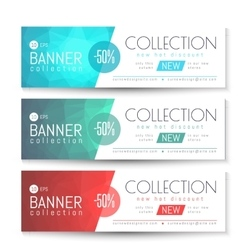 Banner Gift Voucher Template vector