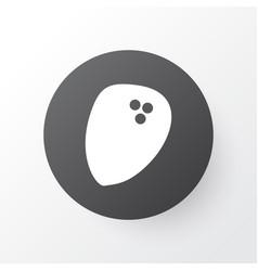 coconut icon symbol premium quality isolated palm vector image