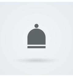 Logo hat Laconic headdress Icon vector image