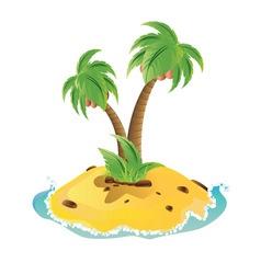 Mini Island2 vector image