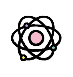 Physics orbit atom chemistry education vector
