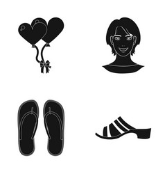 Sole powder design and other web icon in black vector