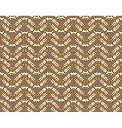 seamless pattern with boomerangs vector image vector image