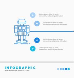 Autonomous machine robot robotic technology vector