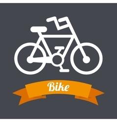 bike sport vector image