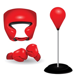 Boxing gear vector
