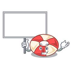 Bring board swim tube character cartoon vector