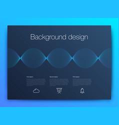 futuristic user interface ui technology vector image