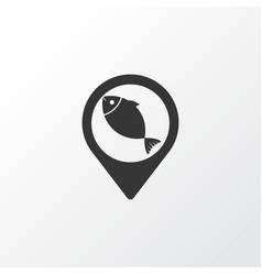 geolocation icon symbol premium quality isolated vector image