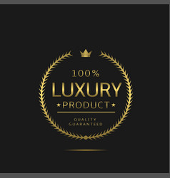 highest quality label vector image
