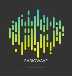 image sound wave vector image