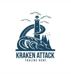 kraken attack vector image