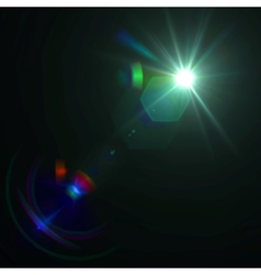 lens flare effect eps8 vector image vector image