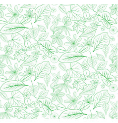 Seamless leaf backdrop vector