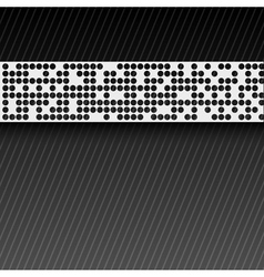 abstract perforated paper tape EPS10 vector image