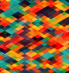 multicolored diamond seamless vector image vector image