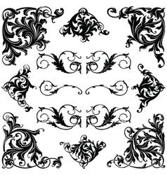 Victorian ornament vector