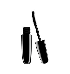 model of a jar of mascara for eyelashes vector image