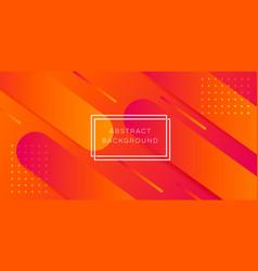 Abstract orange background vector