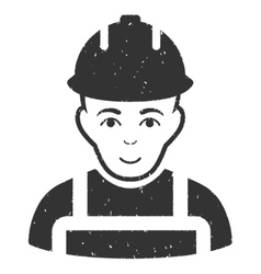 Builder Grainy Texture Icon vector