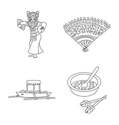 Design balinese and caribbean icon set vector