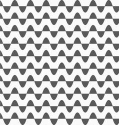 Gray horizontal semi ovals in rows vector