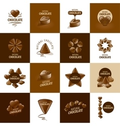 Logo chocolate vector