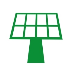 panel solar isolated icon design vector image