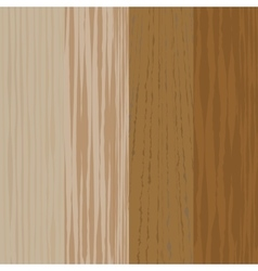 Set the boards of various wood Wooden background vector image