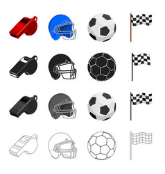Sport training accessories and other web icon vector