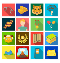 Textiles hobby nature and other web icon in flat vector