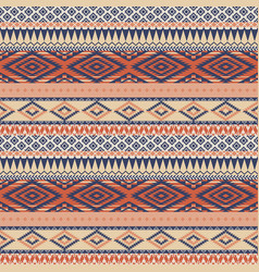 Vintage native american style wallpaper vector