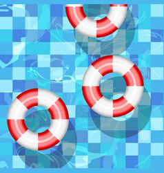 lifebuoy help rescue save ship sos ring buoy vector image