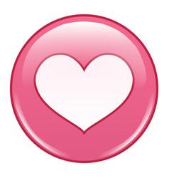 emoji emoticon icon emoji in love emotion vector image