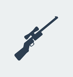 rifle icon vector image