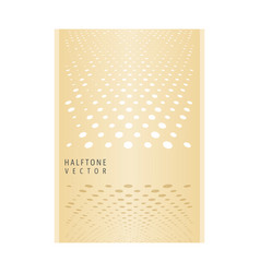 Cover with geometric pattern vector