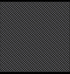 dark carbon fiber texture seamless background vector image