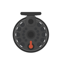fishing reel vector image