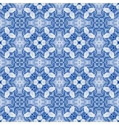 Seamless symmetrical pattern vector