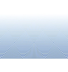 Striped triangles textured surface vector image