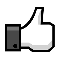 Hand with thumb up vector image vector image