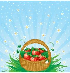 Summer harvest vector image vector image