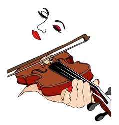 Music of the heart vector