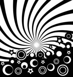 retro logo vector image vector image