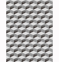 seamless background with cubes pattern vector image vector image