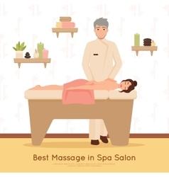 Beauty Salon Spa People vector image vector image